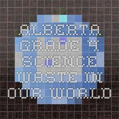 Alberta grade 4 science - Waste in Our World awesome links Science Topics, Cool Science Experiments, Science Lessons, Teaching Science, Elementary Science, Our World, Light And Shadow, Learn English, Classroom Decor