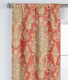 Maybelle Lined Rod Pocket Curtains - Pair
