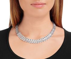 Baron All-Around Necklace from #Swarovski