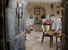 French house in the Centre of Cevennes French Country Cottage, French Countryside, French Country Style, French Farmhouse, Cottage Style, Farmhouse Style, Rustic French, Countryside Kitchen, Country Living