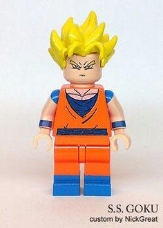 Dragon Ball Z - Super Saiyan Goku lego figure #DBZ