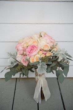 Brandi & Paul | Southern Graces & Company | Lowcountry Bride | Love | Marriage | Wedding | Pink and Orange | Flowers | Bouquets | Roses