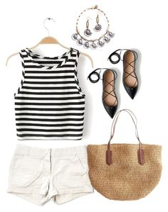"""""""Untitled #6744"""" by lisa-holt ❤ liked on Polyvore featuring J.Crew"""