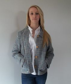 Vintage blazer jacket for dressy or dress by LilaCInspirations, $30.00