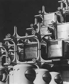 Takara Pavilion Facade / Date: March 15 - September 13, 1970 / Location: Expo Osaka, Japan / Architect: Kisho Kurokawa