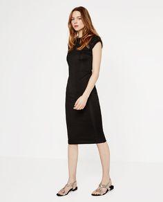 Image 1 of MID-LENGTH DRESS from Zara