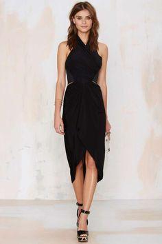 Nasty Gal So Warped Venezia Dress