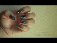 Tribal Nail Tutorial (Easy) by ApriLove4820 - http://www.nailtech6.com/tribal-nail-tutorial-easy-by-aprilove4820/