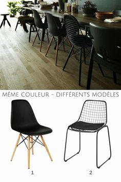 """Résultat de recherche d'images pour """"chaise design depareillee"""""""