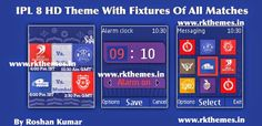 IPL 8 With Fixtures HD Theme For Nokia C1-01, C1-02, C2-00, 107, 108, 109, 110, 111, 112, 113, 114, 2690 & 128×160 Devices ~ Rkthemes   Download Free Themes For Nokia and Android Phones