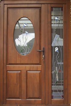 Usa exterior cu pui - Barlad - Esso Design Srl, ID: 1093979 Close Image, Tall Cabinet Storage, Exterior, Doors, Arrow Keys, House, Furniture, Design, Home Decor