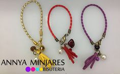 Beautiful Bracelet, this bracelet is for use any time...  available in many colors!.....             Hermosa Pulsera  perfecta para usarla en cualquier momento!  disponible en varios colores!!