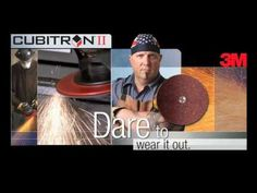 3M™ Cubitron™ II Fibre Disc 982C Grinding Demo - YouTube