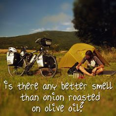 Is there any better smell than onion roasted on olive oil?  Yes: if you put there garlic, too! ;)