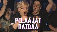 Pelaajat Raidaa
