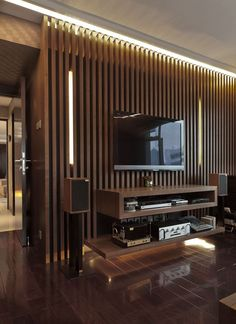 45 Modern Home Entertainment Centers That Will Inspired 45 Modern Home Entertainment Centers That Will Inspired Home Design And Interior Tv Wall Design, Tv Unit Design, Design Case, Bedroom Wall Units, Living Room Tv Unit, Condo Living, Home Design, Design Ideas, Bedroom Entertainment Center
