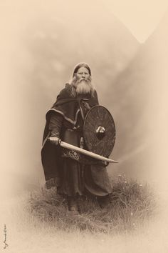 **Viking portrait** IF ANYBODY HAS INFORMATION ABOUT THIS PHOTO, I WOULD APPRECIATE ANY DETAILS,  TIA, -J
