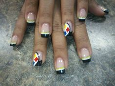 "Pittsburgh Steelers nail art. (Found on ""Attention Pittsburgh Steelers Fans"" Facebook page.)"
