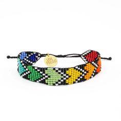 Rainbow River Hearts Bracelet