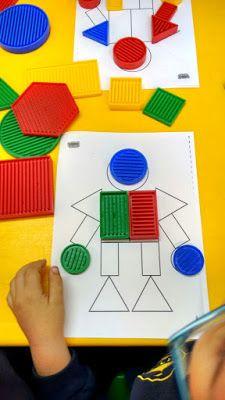Blogue do Jardim Escola Carrocel: Blocos Lógicos Math Activities For Kids, Montessori Activities, Preschool Learning, In Kindergarten, Preschool Activities, Drawing Games For Kids, Sudoku, Material Didático, Teaching Aids