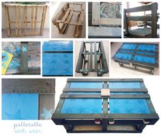 palletable (with star) Recycling, Star, Table, Furniture, Home Decor, Bricolage, Decoration Home, Room Decor, Tables
