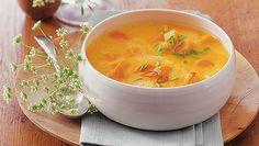 Kürbis-Karotten-Suppe - Herbst-Süppchen - dineandfine.com