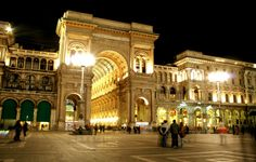 Galleria Vittorio Emanuele II in Milan is the world's oldest shopping mall