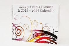 """Amazon.com: Extra Wide Appointment Book (+) Calendar [August 2013 to December 2014] Yearly Weekly Monthly Daily Events and Priorities - Starting in August - Tools4wisdom (I.e. Medical Office / Dental Dentistry / Spa / Law Offices / Lawyers / Event Planners / Wedding Planners / Administrative Assistants / Etc ] --- 8 X 11 Inch / Planning Tabs / 250+ Pages / W. Large Planning Space --- Spiral Bound on the 8"""" Edge to Maximize Appointments Space: Office Products"""