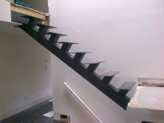 Image result for interior single tread metal stairs