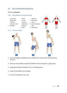 Kettlebell ExerciseWhat is Kettlebell Exercise? The kettlebell is not a new thing and it has been around for quite some time. Kettlebell Challenge, Kettlebell Circuit, Kettlebell Training, Dumbbell Workout, Full Body Workout Routine, Workout Tips, Workout Fitness, Kettlebell Benefits, Latissimus Dorsi