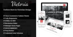 Victoria - Fashion WooCommerce Wordpress Theme . Victoria has features such as Widget Ready: Yes, Compatible Browsers: IE8, IE9, IE10, IE11, Firefox, Safari, Opera, Chrome, Compatible With: WooCommerce 2.6.x, WooCommerce 2.5, WooCommerce 2.4.x, WooCommerce 2.3.x, WooCommerce 2.2.x, WooCommerce 2.1.x, Software Version: WordPress 4.6.1, WordPress 4.6, WordPress 4.5.x, WordPress 4.5.2, WordPress 4.5.1, WordPress 4.5, WordPress 4.4.2, WordPress 4.4.1, WordPress 4.4, WordPress 4.3.1, WordPress…
