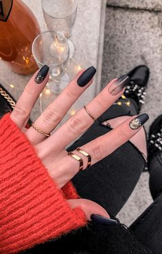 44 Best Coffin Nail & Gel Nail Designs For Summer 2019 - Page 23 of 43 - belikeanactress. com - Trend Spring Nails Coffin 2019 Diy Nails, Cute Nails, Pretty Nails, Summer Gel Nails, Winter Nails, Halloween Nail Designs, Halloween Nails, Essie, Coffin Nails