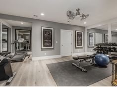 home gym ideas - home gym ideas . home gym ideas small . home gym ideas garage . home gym ideas basement . home gym ideas small bedroom . home gym ideas small workout rooms . home gym ideas small basements . home gym ideas small garage Home Gym Basement, Home Gym Garage, Diy Home Gym, Home Gym Decor, Gym Room At Home, Workout Room Home, Best Home Gym, Basement Workout Room, Workout Room Decor