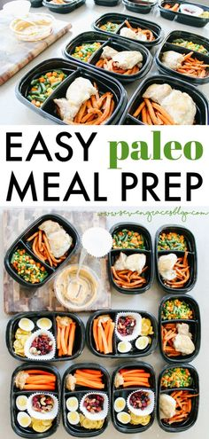 How to Meal Prep the Paleo Way 2019 Easy Paleo Meal Prep to get you through a week of breakfasts lunches and snacks! Also loving these Rubbermaid TakeAlongs meal containers! The post How to Meal Prep the Paleo Way 2019 appeared first on Lunch Diy. Paleo Meal Prep, Lunch Meal Prep, Paleo Dinner, Clean Eating Snacks, Healthy Eating, Healthy Foods, Paleo Food, Eating Habits, Snacks Sains