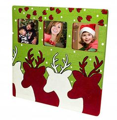 Whimsical Reindeer Frame - Project by DecoArt