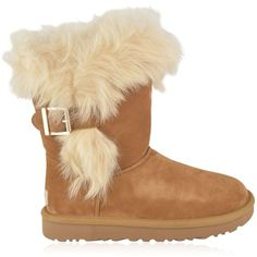 UGG Deena Boots (544.235 COP) ❤ liked on Polyvore featuring shoes, boots, fleece-lined boots, fleece-lined shoes, ugg, ugg boots and ugg footwear