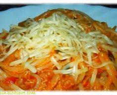 Jamieho špagety Puttanesca