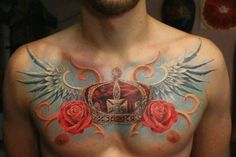 Chest Tattoo Designs For Men - Celebrity plastic surgery photos before and after - http://www.listtattoo.com/chest-tattoo-designs-for-men/?Pinterest