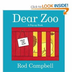 Dear Zoo: A Pop-up Book by Rod Campbell. $11.41. Author: Rod Campbell. 20 pages. Publisher: Little Simon; Pop edition (March 22, 2005)
