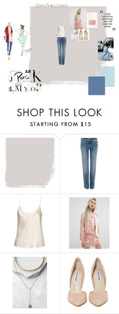 """""""My Inspo for Fashion Week"""" by laurentolbert ❤ liked on Polyvore featuring Été Swim, Levi's, La Perla, ASOS, LULUS, Steve Madden and Missguided"""