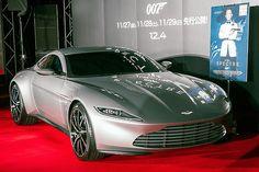 映画「007 スペクター」の劇中車アストンマーティン「DB10」が日本初公開 - Car Watch