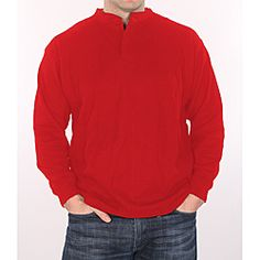 @Overstock.com - Farmall IH Men's Big and Tall Red Thermal Henley - With a button-top neckline, throw this red thermal henley on and experience a stylish look that will keep you warm on those chilly days. Featuring embossed buttons, this henley is machine washable, which saves you trips to the dry cleaners.   http://www.overstock.com/Clothing-Shoes/Farmall-IH-Mens-Big-and-Tall-Red-Thermal-Henley/6608830/product.html?CID=214117 $37.49