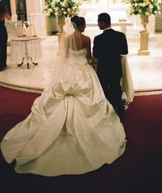 Real Brides: The Belle of the Ball Gown   InsideWeddings.com
