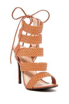 bf86b0b7ea8 Edward Braided Strappy Sandal by Chase   Chloe on  HauteLook Strappy High  Heels