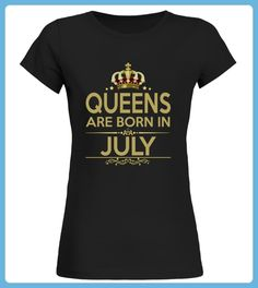 Queens Are Born In July TShirt (*Partner Link)