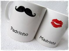 Amei! Pra chamar eles..  Favor mugs. Silhouette work? X