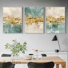Living Room Pictures, Wall Art Pictures, Print Pictures, Canvas Poster, Wall Canvas, Art Mural Fashion, Reproductions Murales, Bleu Pastel, Nordic Art