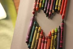 crayons make me happy