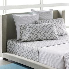I like these contemporary sheets from Kohls.