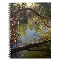 #Franklin Canyon Park Lake 4 Notebook - #office #gifts #giftideas #business